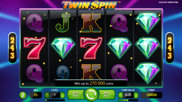 Бонусная игра Twin Spin 2